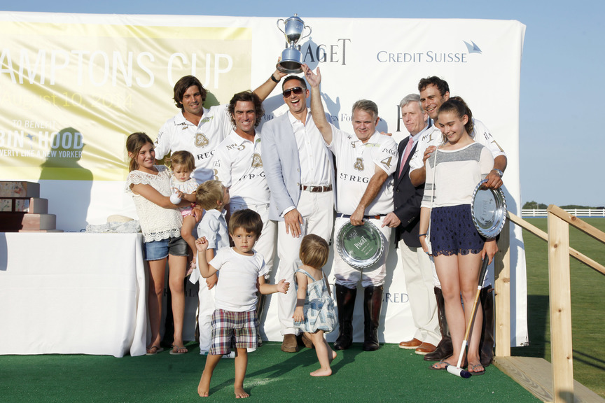St.regis team with piaget hamptons cup
